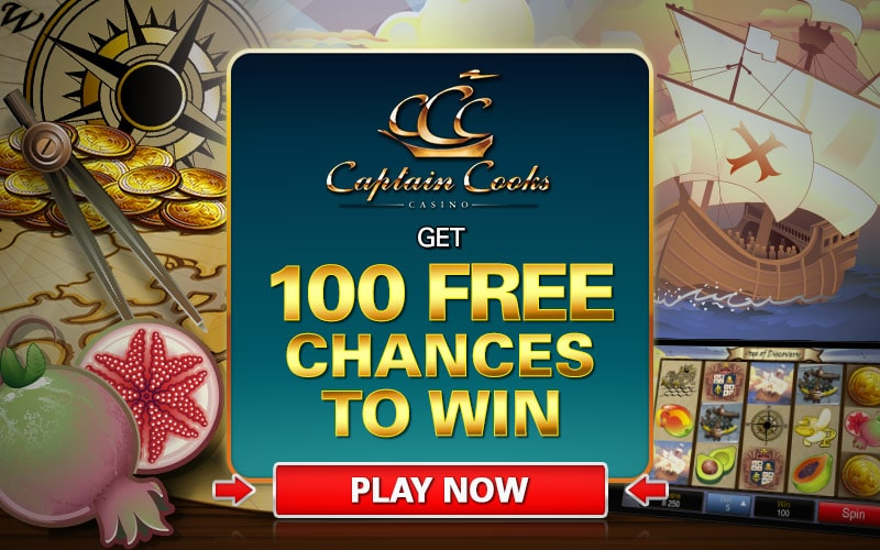 captain cook casino fake