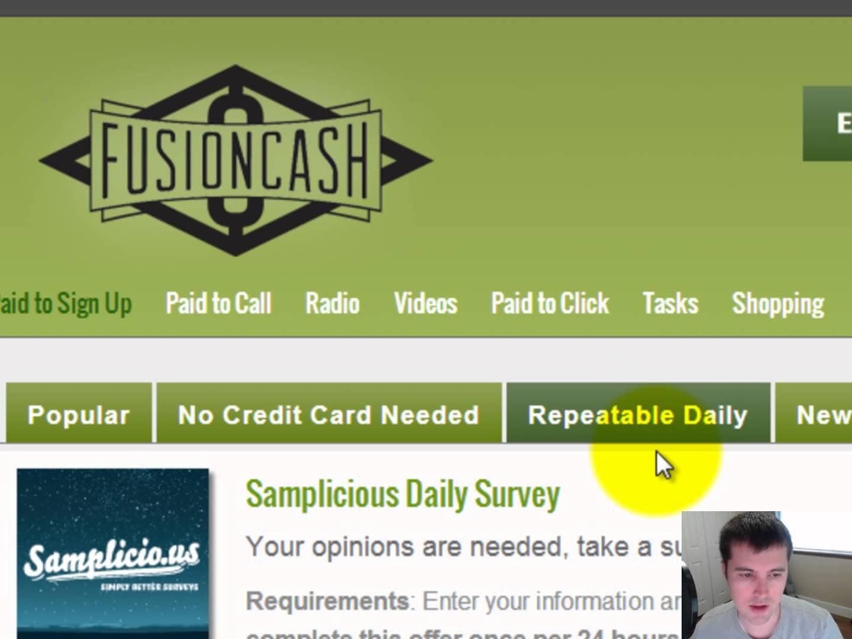 Fusioncash net review
