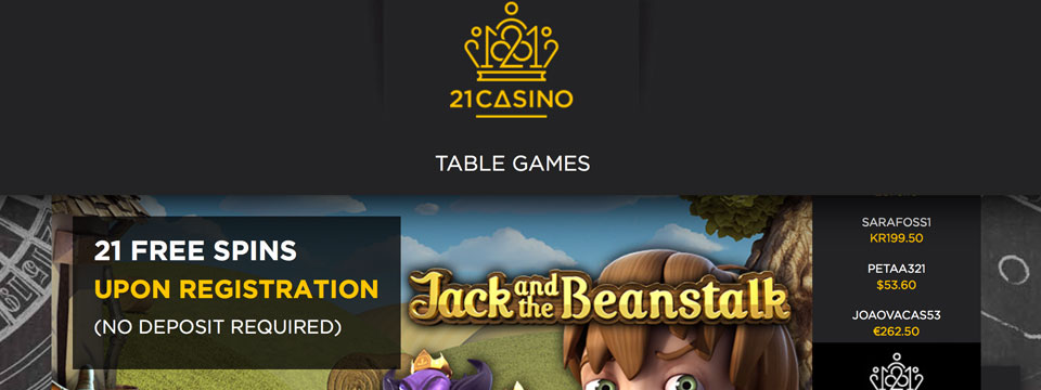 21 casino x